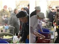 """""""As muri de foame daca nu mi s-ar da acest pranz"""". Batranilor din Moldova nu le ajung pensiile ca sa manance. Unii au noroc de cantina sociala - VIDEO"""