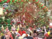Sarbatoare mare la Koln: Oamenii au lasat problemele deoparte si se bucura de petrecerile de strada - VIDEO