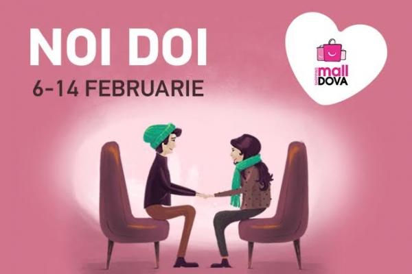 Noi doi! Vino impreuna cu jumatatea ta sa sarbatoriti dragostea la Shopping MallDova!