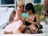 Amber Rose si Blac Chyna, cu posteriorul dezgolit! Cum si-au etalat formele generoase la Carnavalul de la Trinidad