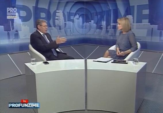 Emisiunea In PROfunzime cu Lorena Bogza. Invitat: Mihai Ghimpu - 15.02.2016