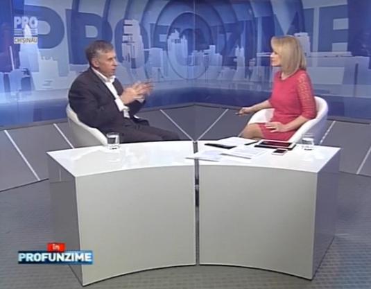 Emisiunea In PROfunzime cu Lorena Bogza. Invitat: Ion Sturza - 18.03.2016