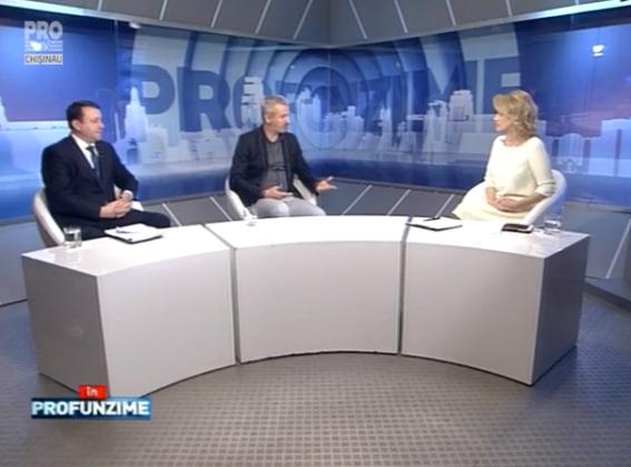 Emisiunea In PROfunzime cu Lorena Bogza. Invitati: Doru Petruti si Igor Munteanu - 22.04.2016
