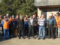 Drumarii din Causeni, la protest fiind nemultumiti ca in fruntea intreprinderii lor va fi numit un nou director. Despre cine este vorba. Reactia ministrului Transporturilor - VIDEO