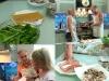 Sunt din nou impreuna! Natalia Colesnic si Valeriu Croitoru au pregatit o cina cu fructe de mare - VIDEO