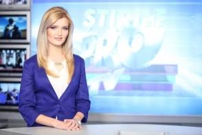 Cristina Gheiceanu a prezentat ultimul sau jurnal de stiri la PRO TV Chisinau: