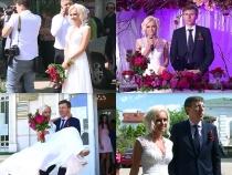 A durat o zi si o noapte. Vezi cele mai frumoase momente de la nunta lui Dorin Chirtoaca si a Anisoarei Loghin - VIDEO