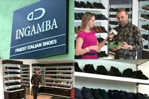 Igor Sarbu prefera brandul INGAMBA. Vezi ce incaltaminte si-a ales membrul trupei Akord in acest sezon - VIDEO