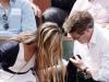 Scene neasteptate pe tribunele Roland Garros! Iubita lui Hugh Grant si-a aratat din greseala zona intima - FOTO