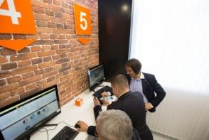 Fundatia Orange a lansat o cafenea Wi-Fi la universitatea din Cahul - VIDEO