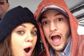 Cuplul  Ashton Kutcher si Mila Kunis sunt in asteptarea celui de-al doilea copil. Au facut anuntul acum o zi, pentru revista People
