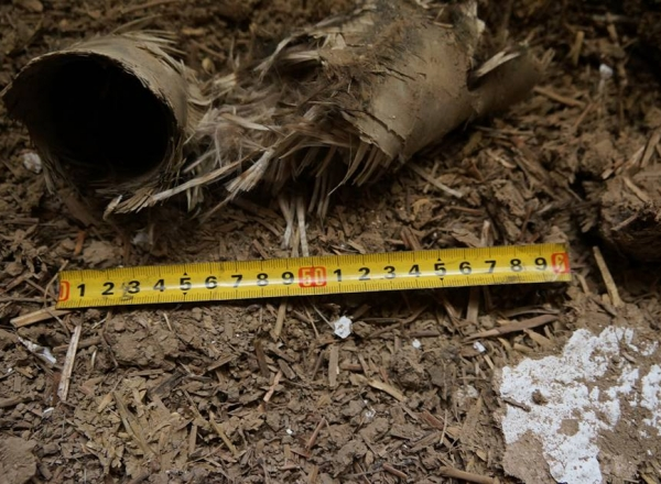 O racheta antigrindina a cazut intr-o casa din raionul Singerei - VIDEO / GALERIE FOTO