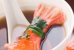 Supa de somon cu spanac