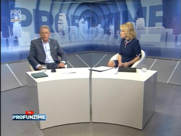 Emisiunea IN PROfunzime cu Lorena Bogza: Invitat: Mihai Ghimpu - 08.07.16