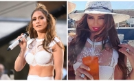 Jennifer Lopez si Xenia Deli, in aceeasi tinuta! Cine a aratat mai sexy - FOTO