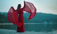 Katy Rain, intr-o rochie superba in noul sau videoclip! Iata cateva imagini de la filmari - FOTO