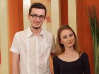 Sandy C impreuna cu producatorul ei, Artur Vidmidi, s-au intors la O Seara Perfecta. Vezi cu ce nou au venit tinerii la emisiunea noastra - VIDEO