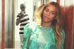 Beyonce a petrecut o mini vacanta la Paris, impreuna cu sotul sau, Jay Z, si fiica lor, Blue Ivy. Vezi imagini rare a celor trei impreuna - FOTO