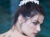 Cercei, lenjerie intima si cam atat! Supermodelul Isabeli Fontana s-a casatorit si a purtat cea mai curajoasa rochie de mireasa - GALERIE FOTO