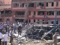 Sase oameni au murit, iar peste 200 au fost raniti in ultimele 24 de ore in atacuri produse in doua orase din estul Turciei - VIDEO