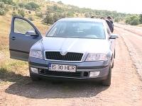 Zeci de soferi sunt prinsi ca-ntr-o capcana pe portiunea de drum dintre satele Lapusna si Pervomaisc, aflata in reconstructie - VIDEO