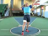 Ivan Emilianov a ratat calificarea in marea finala a probei de aruncarea greutatii - VIDEO