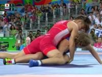 Ghinion teribil pentru Rusia la Olimpiada de la Rio. Doua luptatoare ale acestei tari au pierdut finalele in ultimele secunde - VIDEO