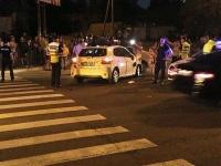 Accident cu implicare unei motociclete si a unei Toyota Yaris in Chisinau. Motociclistul a ajuns la spital - FOTO