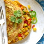Invata sa prepari omleta Hawaiana. Pufoasa si aromata, te va cuceri din prima