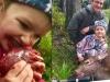 La 8 ani, musca din inima caprioarei ucise chiar cu mana ei. Ce face tatal, insa, este infiorator - FOTO