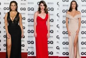 Elegante, dar si sexy. Ce tinute au purtat vedetele pe covorul rosu al Premiilor GQ Men of the Year 2016 - FOTO