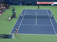 Lovitura dubla pentru Serena Williams. Americanca a fost eliminata de la US Open, dar a si cedat prima pozitie in clasamentul WTA - VIDEO
