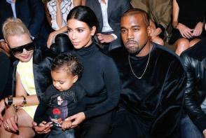 North West, fiica lui Kim Kardashian, fashionista de 3 ani la New York Fashion Week