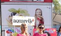 Revista Aquarelle a aniversat 13 ani de culoare. Au sarbatorit evenimentul intr-un mod cu totul special - VIDEO