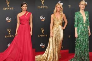 Tinute elegante si pline de bun-gust la Premiile Emmy 2016: Cum au aparut vedetele pe covorul rosu - FOTO