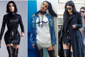 Antonia arata mai sexy decat surorile Kardashian, in acelasi model de cizme. uite cat de sexy s-a imbracat artista - FOTO