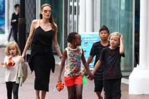 Dezvaluiri din casa familiei Jolie-Pitt: adevarul despre cum sunt crescuti copiii si ce obiceiuri ciudate au parintii - FOTO
