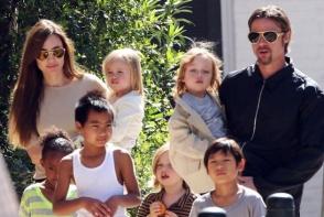 Prima aparitie a copiilor cuplului Pitt - Jolie dupa izbucnirea scandalului de divort. Cum au fost fotografiati