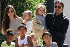 Brad Pitt are nevoie de psiholog. Autoritatile au decis in grija cui vor ramane copiii