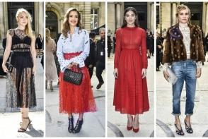 Tinute excentrice, sexy si provocatoare: cum s-au imbracat vedetele la Paris Fashion Week