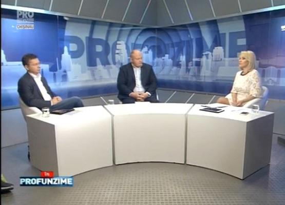 Emisiunea IN PROfunzime cu Lorena Bogza: Invitati: Vasile Bolea si Veaceslav Negruta