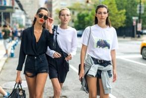 Rihanna, Olivia Palermo si Hailley Baldwin: cele mai apreciate aparitii de la saptamanile modei din septembrie, surprinse pe strada - FOTO