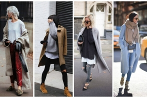 Cum sa porti paltonul în sezonul rece - tinute care sa te inspire - FOTO