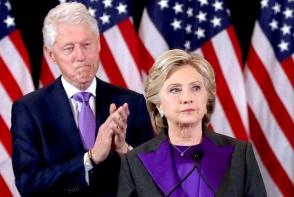 Afla de ce a purtat mov Hillary Clinton la discursul de dupa alegeri. Nimic nu este intamplator
