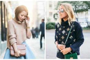 Poti sa ai un look impecabil chiar si in zilele geroase de iarna. Iata ce tipuri de pulovere sunt in voga - FOTO