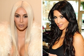 Blonda sau bruneta? Vezi ce vedete au jonglat cu nuanta parului - FOTO