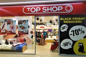 Reduceri pana la -70% la Top Shop, doar de Black Friday!  Profita de cele mai bune preturi ale anului 2016, doar pe data de 25 Noiembrie.