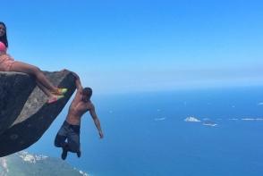 Un cuplu din Brazilia a schimbat rutina pe o pasiune periculoasa si plina de adrenalina. Pozele sunt reale - FOTO