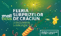 Feeria surprizelor de Craciun la Shopping MallDova: zambete, cadouri si premii pe 4 roti!