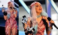 Lady Gaga marcheaza o noua aparitie bizara. Crezi ca ai purta asa ceva - FOTO